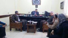 السيد اللواء / د. علاء الدين عبد المجيد يتابع سير العمل بمجمع المعاهد بوسط البلد