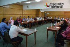 كلمة للاستاذ عبد الفتاح إبراهيم لعدم استجابتهم للدعوة التحريضية