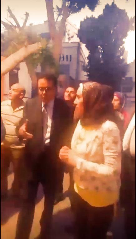 جولة الاستاذ عبد الفتاح ابراهيم لفرع الجامعة بطنطا
