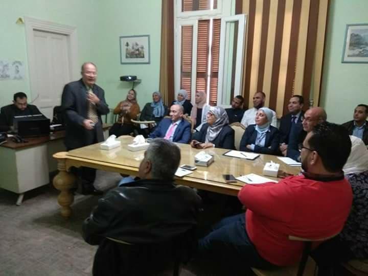 دورة اعضاء لجان السلامة والصحه المهنية لمستشفي كليوباترا تنفيذ مركز الزيتون