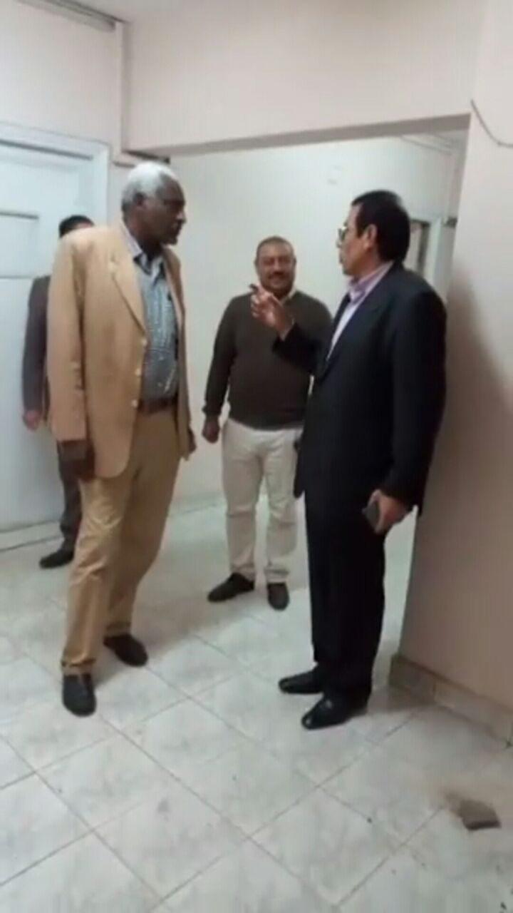 فيديو الباشا و أبراهيم يتفقدوا مراحل التطوير بدار الاقامة