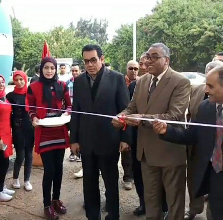 فيديو افتتاح فرع الجامعة العمالية برأس البر