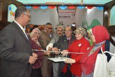 افتتاح معرض دعم الطلبه بالجامعة العمالية فرع الدراسه تحت إشراف مؤسسة محبي مصر .