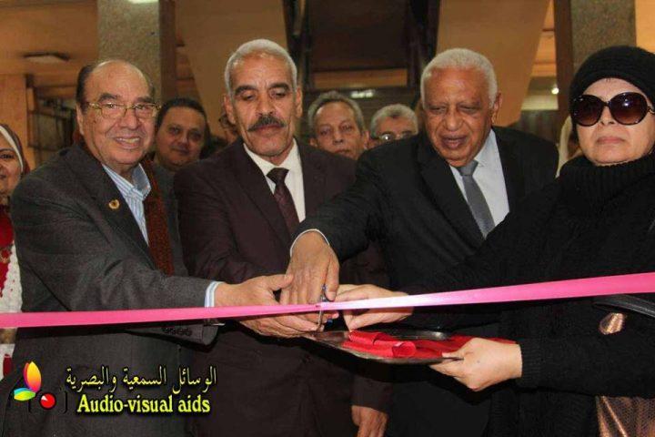 معرض دعم الطلبه بتعاون بين المؤسسة الثقافية العمالية و مؤسسة محبى مصر