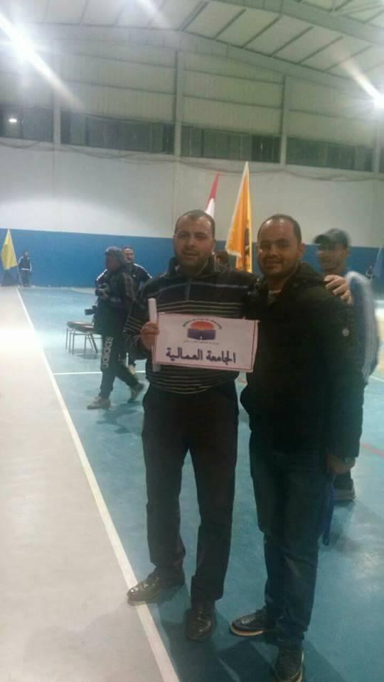 ألف مليون مبروك  حصول الجامعة العمالية على المركز الأول على مستوى جميع مناطق الجمهورية فى بطولة تنس الطاولة