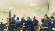 فاعليات دورة اعضاء لجان السلامة والصحة المهنية بشركة بترومنت فرع بورسعيد