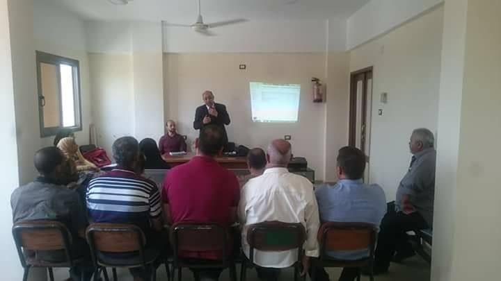 دورة اعضاء لجان السلامة والصحة المهنية بمستشفي حميات