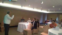 برنامج أعضاء لجان السلامة والصحة المهنية فى والتى تتم من خلال معهد السلامة والصحة المهنية برئاسة مهندس اسماعيل هنداوى داخل فندق