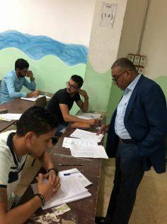 قام السيد الاستاذ الدكتور / عادل عبدو رئيس الجامعة بتفقد مسيرة الامتحانات فى فرع الجامعة باسيوط