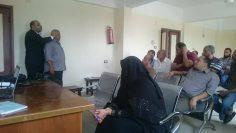 دورة اعضاء لجان السلامة والصحة المهنية بمستشفي حميات كفرالدوار