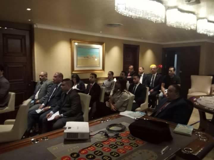 تم بحمد الله تعالي افتتاح اليوم الأول لبرنامج أعضاء لجان السلامة والصحة المهنية اليوم