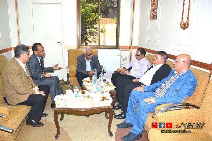 زيارة وفد من اتحادعمال قبرص ( البيو) للمؤسسة الثقافية العمالية
