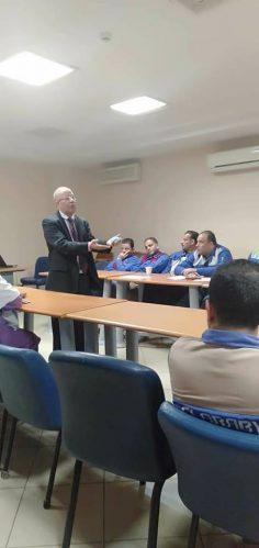بدأ فاعليات دورة أعضاء لجان السلامة متقدم تحت إشراف مركز بنها للثقافة العمالية