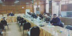 افتتاح دورة امناء الصناديق والمساعدين بالتنسيق مع معهد الدراسات النقابية