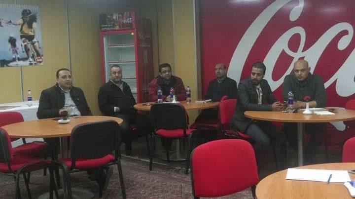 فعاليات برنامج اعضاءلجان السلامةبشركة كوكاكولا