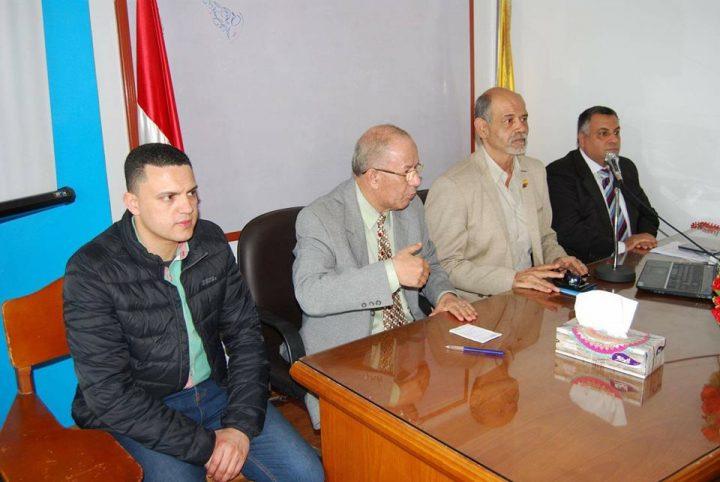 """افتتاح البرنامج الخامس """"اعضاء لجان السلامة و الصحة المهنية """" ضمن البروتوكول الموقع مع شركة المقاولون العرب"""