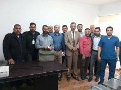 ختام برنامج أعضاء لجان السلامة والصحة المهنية