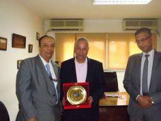 ختام برنامج أعضاء لجان السلامة والصحة المهنية المنفذ بمعهد الجيزة