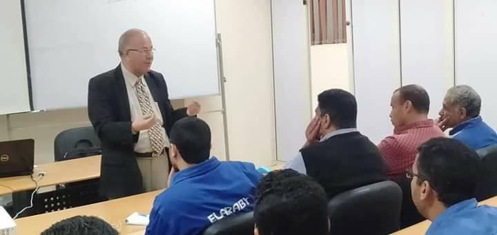 دورة أعضاء لجان السلامة أساسي بشركة توشيبا العربي ببنها