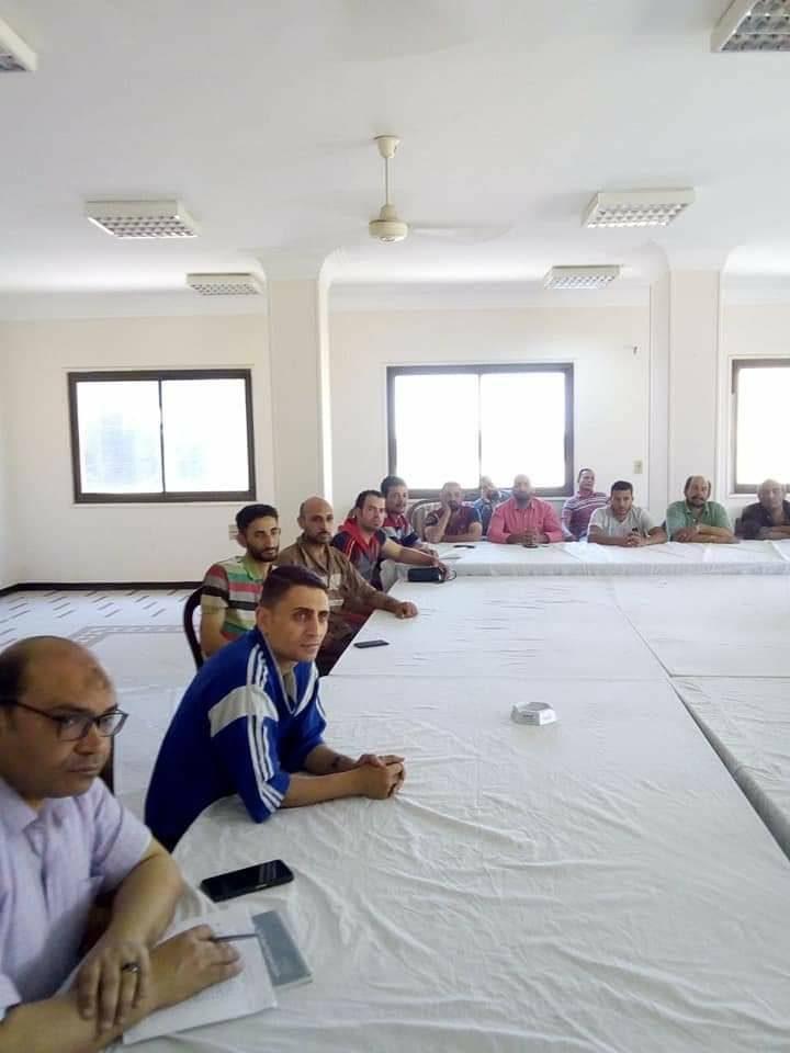 افتتاح دورة أعضاء لجان السلامة أساسي بشركة النصر لتصنيع الورق و الكرتون