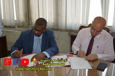 بروتوكول تعاون بين المؤسة الثقافية العمالية واكاديمة الخرطوم للعلوم الإدارية لجمهورية السودان