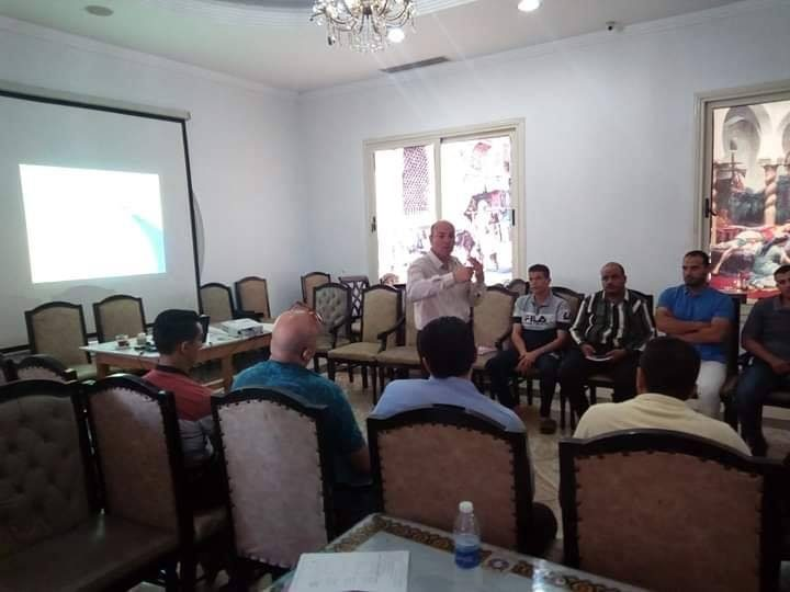 افتتاح دورة اعضاء اللجان بمقر قصر السنوسي للمشويات والاسماك
