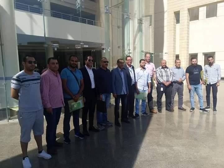 دورة أعضاء لجان السلامة والصحة المهنيه لجامعه سيناء مع معهد السلامة والصحة المهنية بالعريش