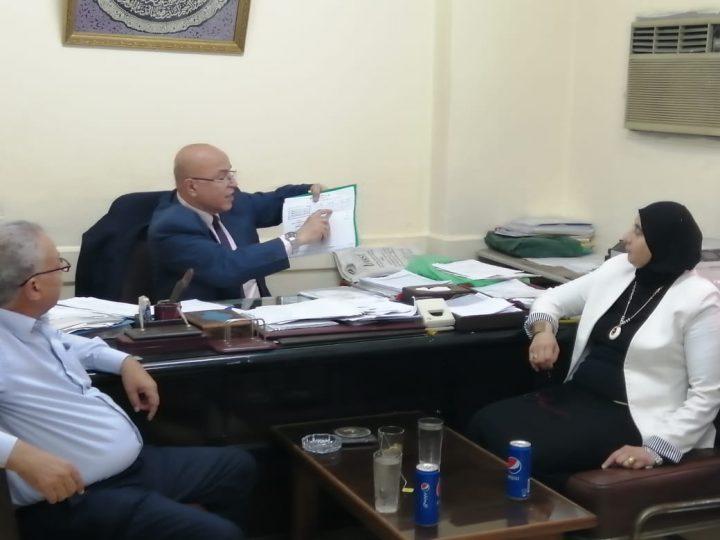 حسان: دورنا هو تثقيف ورفع الوعى بالسلامة والصحة المهنية لكل عامل مصري