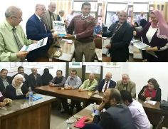 حسان يكرم العاملين المميزين بالمؤسسة الثقافية العمالية