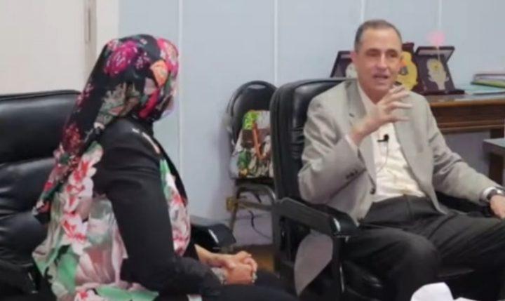 """"""" مستقبل الجامعة العمالية"""" في حوار نائب وزير التعليم مع بسنت منجي"""