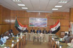 ختام معهد التربية العمالية دورتي في فن التعامل مع الأخرين – حقوق اللاجئين وذلك في إطار التعاون المتبادل بين المؤسسة ووزارة الداخلية السودانية