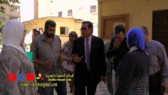 السيد الاستاذ/ عبد الفتاح إبراهيم يقوم زيارة مفاجئة لجميع المعاهد بالاسكندرية
