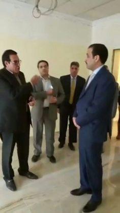 فيديو يصطحب أ/عبد الفتاح ابراهيم أ/فايز المطيرى مدير عام منظمة العمل العربية فى جولة بدار الأقامة