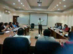 برنامج (أعضاء لجان السلامة والصحة المهنية) اساسي والمنفذ بشركة YKK Egypt خلال الفترة من ٢٠١٨/٥/٦ إلي ٢٠١٨/٥/٩.