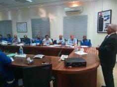 ختام برنامج أعضاء لجان السلامة والصحة المهنية المنفذ في شركة خالدة للبترول