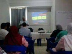 دورة اعضاء لجان السلامة و الصحة المهنية المنفذة بمركز امراض القلب بالمحلة الكبرى