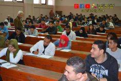 امتحانات شعبتي علاقات وتكنولوجيا بمقر الجامعة العمالية بالدراسة وامتحانات شعبة الفندقة بالمؤسسة الثقافية العمالية بمدينة نصر .