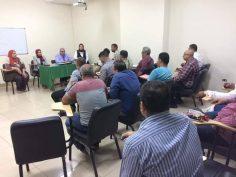 ختام برنامج أخصائي السلامة والصحة المهنية المتقدم للعاملين بشركة المقاولون العرب