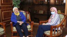 رئيسة لجنة المشاركة السياسية ( سناء السعيد ) بالمجلس القومي للمرأة ، في حوار حصري لمجلة الثقافة العمالية.
